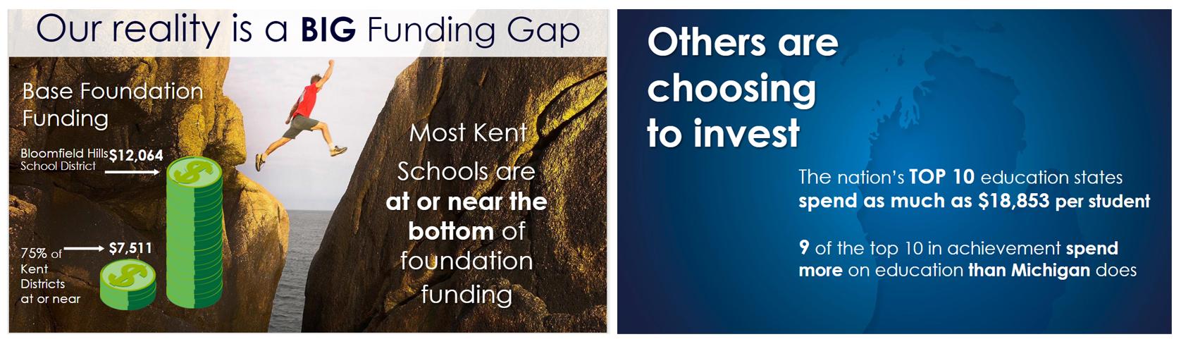 Big funding gap image
