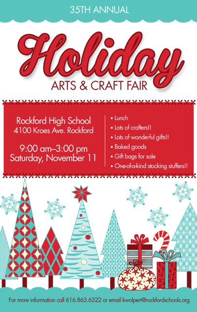 Craft Fair Poster 17 Rockford Public Schools