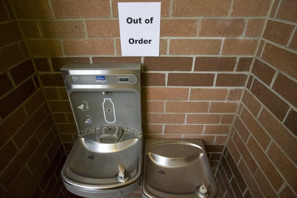 Water Fountain Out of Order